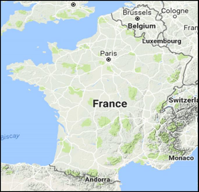Map Of France Belgium And Luxembourg.France Map